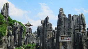 The Stone Forest in Kunming